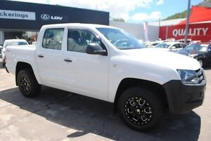 2012 Volkswagen Amarok 2H MY12.5 TDI420 4Motion Perm White 8 Speed Automatic Utility Rosslea Townsville City Preview