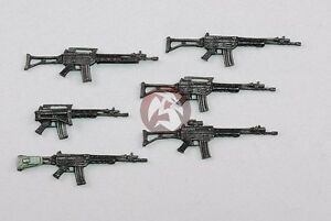 Royal-Model-1-35-Italian-Beretta-SC70-90-SCP70-90-Assault-Rifles-6-pcs-634