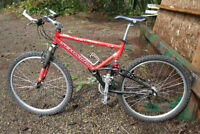 PRE-OWNED SCHWINN S 20 MOUNTAIN BIKE WITH BRAND NEW PARTS A1 CON