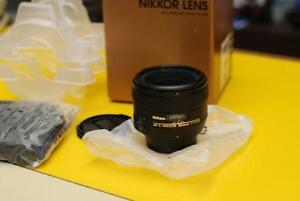 AF-S Nikkor 50mm f/1.4G  lens with 3 month warranty