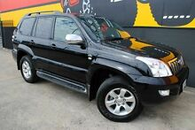 2007 Toyota Landcruiser Prado KDJ120R GXL Cosmic Black 5 Speed Automatic Wagon Melrose Park Mitcham Area Preview