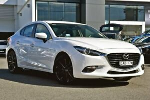 2017 Mazda 3 BN5438 SP25 SKYACTIV-Drive GT White 6 Speed Sports Automatic Hatchback Tweed Heads Tweed Heads Area Preview