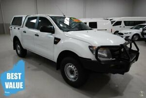 2014 Ford Ranger PX XL Double Cab White 6 Speed Manual Utility Kenwick Gosnells Area Preview