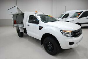 2014 Ford Ranger PX XL 4x2 Hi-Rider White 6 Speed Sports Automatic Cab Chassis Kenwick Gosnells Area Preview