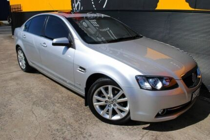 2011 Holden Calais VE II Nitrate Silver 6 Speed Sports Automatic Sedan