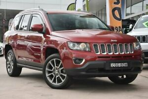 2013 Jeep Compass MK MY14 Limited Red 6 Speed Sports Automatic Wagon