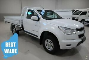 2013 Holden Colorado RG MY14 LX White 6 Speed Sports Automatic Cab Chassis Kenwick Gosnells Area Preview
