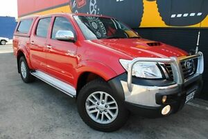2012 Toyota Hilux KUN26R MY12 SR5 Double Cab Super Red 4 Speed Automatic Utility Melrose Park Mitcham Area Preview