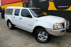 2002 Nissan Navara D22 MY2002 ST-R Pure White 5 Speed Manual Utility Melrose Park Mitcham Area Preview