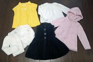 Toddler Girls Size 2 Sweaters