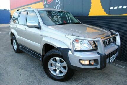 2008 Toyota Landcruiser Prado KDJ120R GXL Crystal Gold 5 Speed Automatic Wagon Melrose Park Mitcham Area Preview
