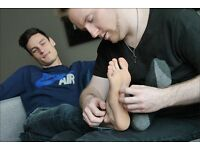 Ticklish? Earn money from being tickled