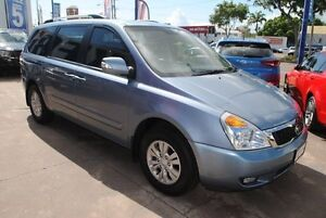 2013 Kia Grand Carnival VQ MY14 S Blue 6 Speed Sports Automatic Wagon Townsville Townsville City Preview