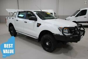 2015 Ford Ranger PX XL Double Cab White 6 Speed Manual Utility Kenwick Gosnells Area Preview