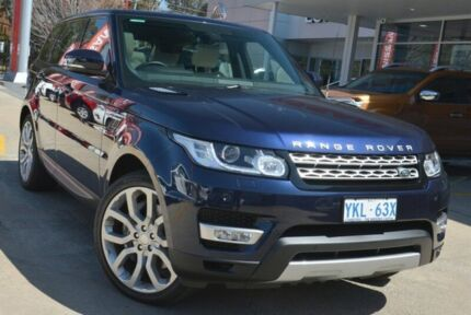2014 Land Rover Range Rover Sport L494 MY15 SDV6 CommandShift HSE Loire Blue 8 Speed Auto Seq Sports Pearce Woden Valley Preview