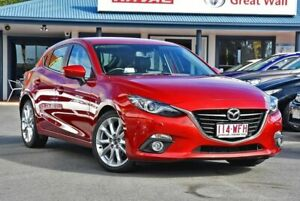 2015 Mazda 3 BM5438 SP25 SKYACTIV-Drive GT Red 6 Speed Sports Automatic Hatchback Tweed Heads Tweed Heads Area Preview