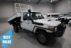 2012 Toyota Landcruiser VDJ79R MY13 Workmate White 5 Speed Manual Cab Chassis Kenwick Gosnells Area Preview