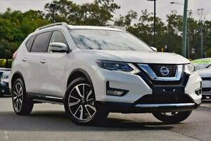 2020 Nissan X-Trail T32 Series II Ti X-tronic 4WD White 7 Speed Constant Variable Wagon Hoppers Crossing Wyndham Area Preview