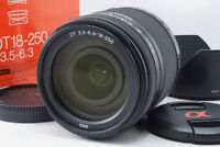 Excellent! Sony DT18-250mm f/3.5-6.3 SAL18250 (in box+UV filter)