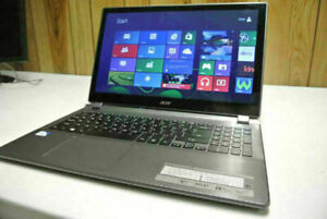 "15"" Acer V5 Touchscreen 6GB 120GB SSD Windows 10 laptop Computer"