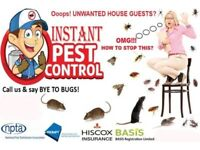 All London 100%Guaranteed Pest Control 24/7 Mice Rat Bedbugs Cockroach Wasps Ants Flea Beetle Moth