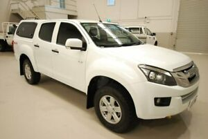 2014 Isuzu D-MAX MY14 LS-M Crew Cab White 5 Speed Sports Automatic Utility Kenwick Gosnells Area Preview