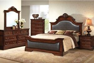 QUEEN BEDROOM SETS STARTINGFROM$799 LOWEST PRICE GUARANTEE Kitchener / Waterloo Kitchener Area image 10