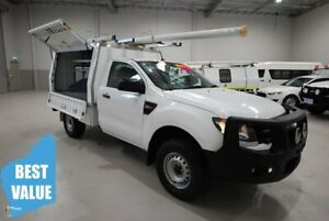 2015 Ford Ranger PX XL White 6 Speed Manual Cab Chassis Kenwick Gosnells Area Preview