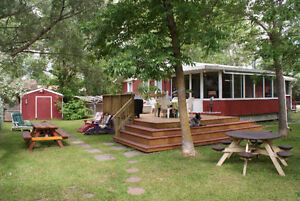 Cabin For Rent in South Beach Gimli - Summertime