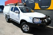 2012 Holden Colorado RG MY13 LX Space Cab Candy White 6 Speed Sports Automatic Cab Chassis Melrose Park Mitcham Area Preview