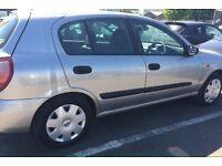 Nissan Almera 1.5 manual, 5 doors, long MOT full history, £495