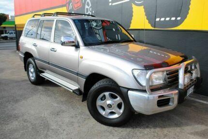 2003 Toyota Landcruiser UZJ100R GXL Grey Metallic 5 Speed Automatic Wagon Melrose Park Mitcham Area Preview
