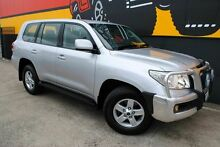 2008 Toyota Landcruiser VDJ200R GXL Clean Silver 6 Speed Sports Automatic Wagon Melrose Park Mitcham Area Preview