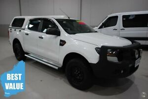 2016 Ford Ranger PX MkII XL Double Cab White 6 Speed Sports Automatic Utility Kenwick Gosnells Area Preview