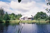 Stunning home surrounded by 200+ acre New Brunswick woodland