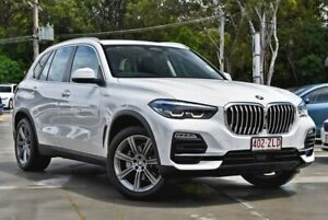 2019 BMW X5 G05 xDrive25d Steptronic White 8 Speed Sports Automatic Wagon Southport Gold Coast City Preview