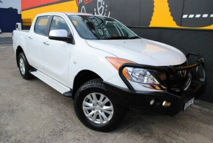 2013 Mazda BT-50 UP0YF1 GT Cool White 6 Speed Sports Automatic Utility Melrose Park Mitcham Area Preview