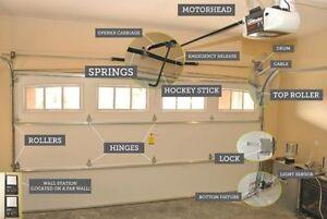 Garage Doors Repairs and Electric Openers  Best Quality. Kitchener / Waterloo Kitchener Area image 10