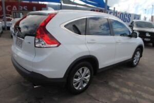 2013 Honda CR-V RM MY14 VTi-S 4WD White 5 Speed Sports Automatic Wagon Townsville Townsville City Preview