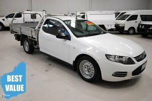 2014 Ford Falcon FG MkII EcoLPi Super Cab White 6 Speed Sports Automatic Cab Chassis Kenwick Gosnells Area Preview
