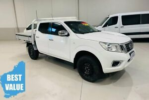 2016 Nissan Navara D23 S2 RX White 7 Speed Sports Automatic Cab Chassis Kenwick Gosnells Area Preview