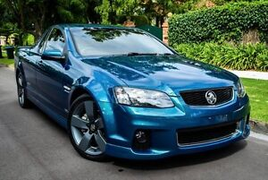 2012 Holden Ute VE II MY12.5 SS Z Series Green 6 Speed Manual Utility Medindie Walkerville Area Preview