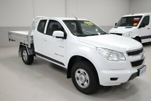 2013 Holden Colorado RG MY13 LX Space Cab White 6 Speed Sports Automatic Cab Chassis Kenwick Gosnells Area Preview