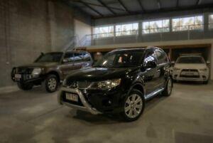 2007 Mitsubishi Outlander ZG MY07 VR-X Black 6 Speed Sports Automatic Wagon Moorooka Brisbane South West Preview