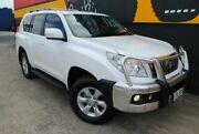 2011 Toyota Landcruiser Prado KDJ150R GXL Glacier White 5 Speed Sports Automatic Wagon Melrose Park Mitcham Area Preview