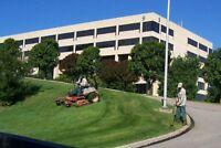 Offering Commercial Clients Lawn Care and Winter Snow Removal