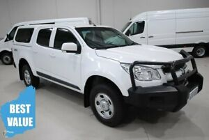 2015 Holden Colorado RG MY16 LS Crew Cab White 6 Speed Manual Utility Kenwick Gosnells Area Preview