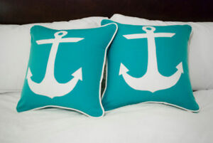 Throw Pillows, Bench Cushions, Custom Seamstress