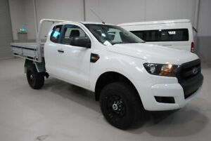 2015 Ford Ranger PX MkII XL Super Cab White 6 Speed Manual Cab Chassis Kenwick Gosnells Area Preview