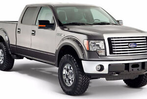 New Pocket Style Fender Flares for Ford F150; F250/350; No-Drill